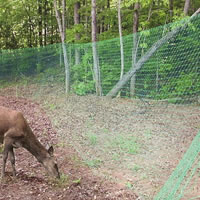 THE WIRELESS DEER FENCE DEER REPELLENT, DEER CONTROL W/O